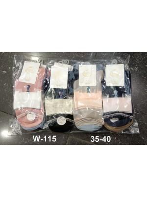 [W-115] Chaussettes à motif cravate
