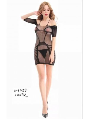 [S-1039] Robe sexy en résille