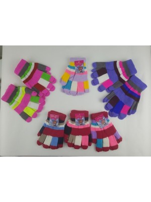 [G1] Gants multicolores