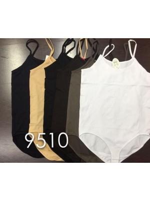 [9510] Body en nylon avec bretelles fines