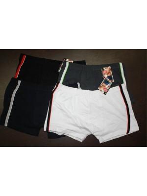 [2230] Boxers unis bandes latérales