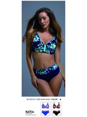 [374] Bikini imprimé fleuri