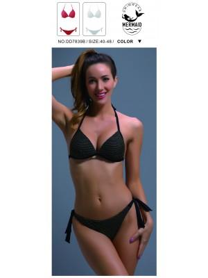 [7839] Bikini imprimé écaille