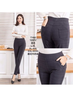 [TY-60] Pantalon imprimé avec poches