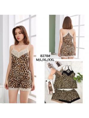[8278] Ensemble pyjama léopard